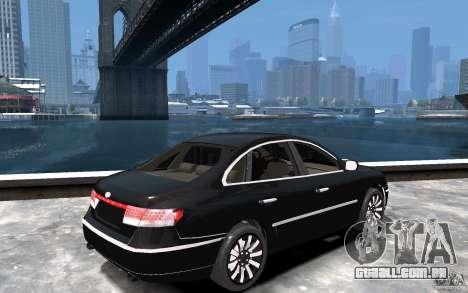 Hyundai Azera 2008 para GTA 4 vista direita