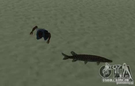 Novos peixes para GTA San Andreas terceira tela