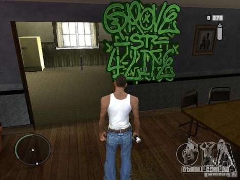 My Gang Tags para GTA San Andreas terceira tela