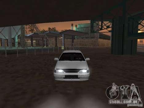 Vaz 2115 Tun luz v. 1.1 para GTA San Andreas vista direita
