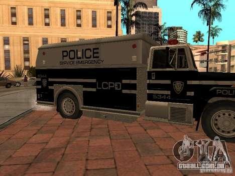 Máquina de selo HD para GTA San Andreas esquerda vista