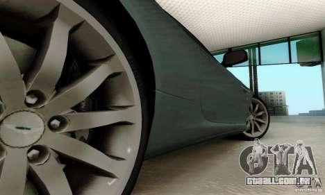 Aston Martin DB9 para GTA San Andreas vista traseira