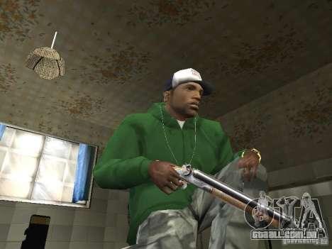 Pak domésticos armas V2 para GTA San Andreas segunda tela