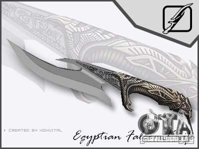 EGYPTIAN FALCON KNIFE V1.0 para GTA San Andreas