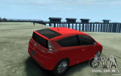 Citroen C4 2009 VTS Coupe v1 para GTA 4