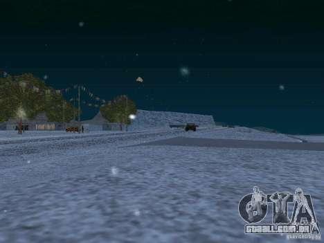 Neve para GTA San Andreas décimo tela