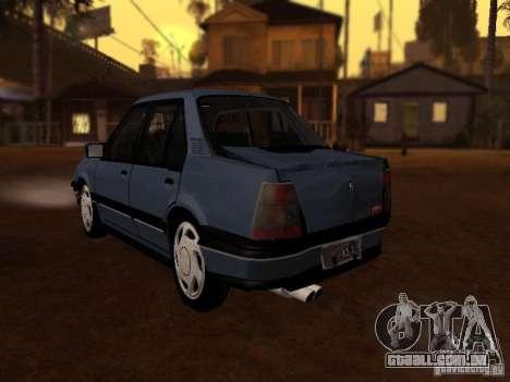 Chevrolet Monza GLS 1996 para GTA San Andreas vista traseira