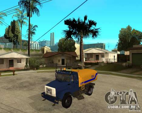 ZIL-433362 Extra Pack 2 para GTA San Andreas vista direita