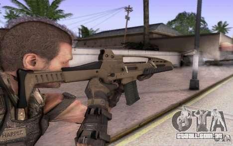 HK XM8 eotech para GTA San Andreas segunda tela
