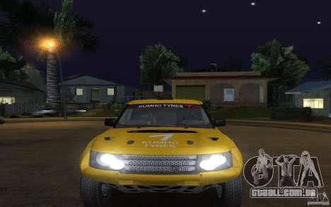 Bowler Nemesis para GTA San Andreas vista direita