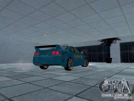 Nissan Skyline R 33 GT-R para GTA San Andreas vista direita