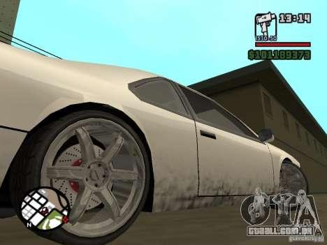 Novas peças para tuning para GTA San Andreas segunda tela