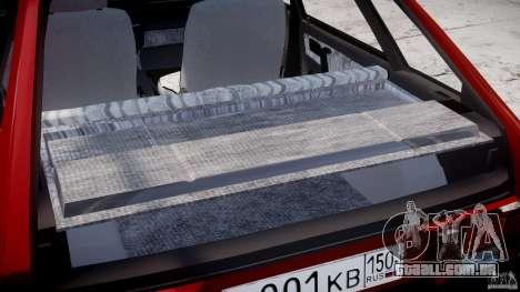 Vaz-21093i para GTA 4 vista superior