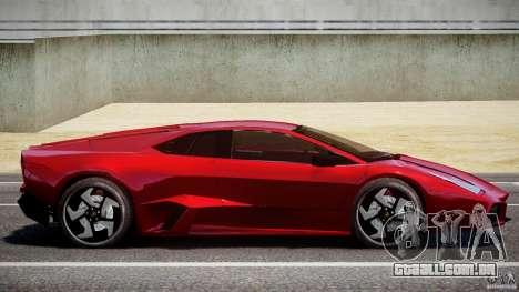 Lamborghini Reventon para GTA 4 esquerda vista