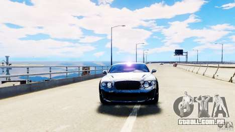 Bentley Continental SuperSports v2.5 para GTA 4 vista direita