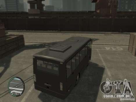 Isuzu Bogdan A09202 para GTA 4 vista direita