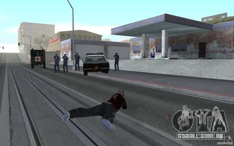 Nova animação tiro espingardas para GTA San Andreas por diante tela