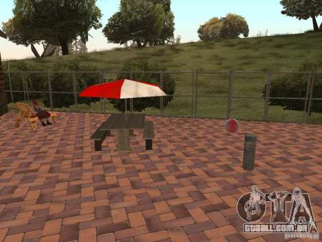 Villa nova para o CJ para GTA San Andreas sétima tela