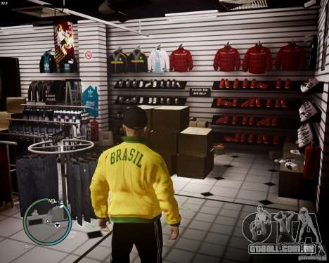 Foot Locker Shop v0.1 para GTA 4 terceira tela