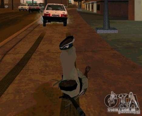 Animações de recrutamento de GTA IV para GTA San Andreas