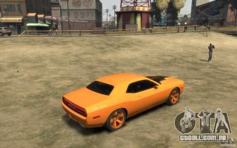 Dodge Challenger Concept para GTA 4 vista direita