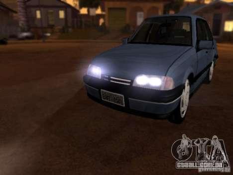Chevrolet Monza GLS 1996 para GTA San Andreas esquerda vista