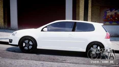Volkswagen Golf 5 GTI para GTA 4 esquerda vista