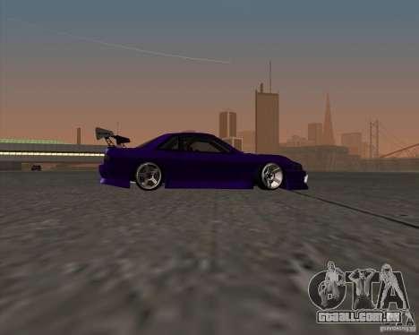 Nissan Silvia S13 Nismo tuned para GTA San Andreas vista traseira