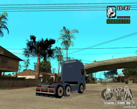 Scania 164L 580 V8 Black Beaunty para GTA San Andreas vista direita