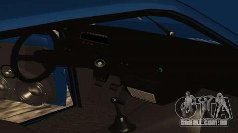 VAZ 1111 Oka para GTA San Andreas interior