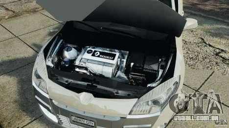 Renault Megane Coupe para GTA 4 vista interior