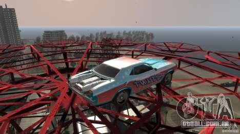 Afterburner Flatout UC para GTA 4 esquerda vista