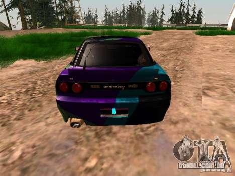 Nissan Sil80 Nate Hamilton para GTA San Andreas vista traseira
