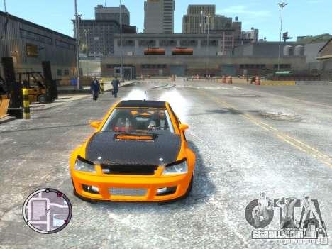 Sultan RS HD FreeStyle Team para GTA 4 traseira esquerda vista