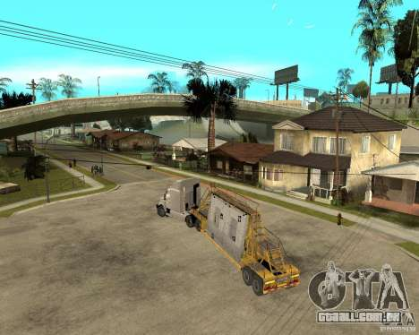 Patch reboque v_1 para GTA San Andreas vista direita
