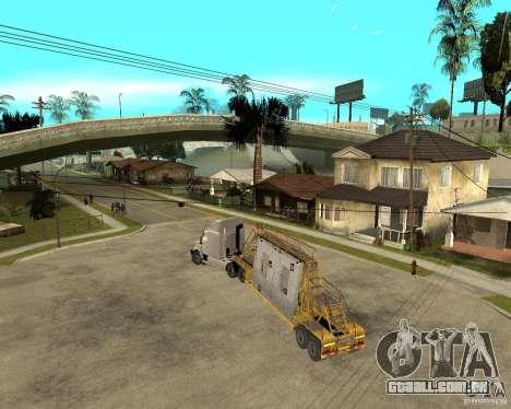 Patch reboque v_1 para GTA San Andreas vista direita
