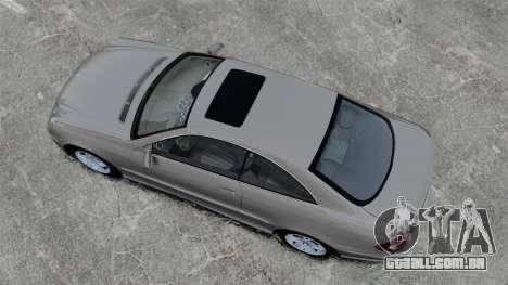 Mercedes-Benz CLK 55 AMG Stock para GTA 4 vista direita