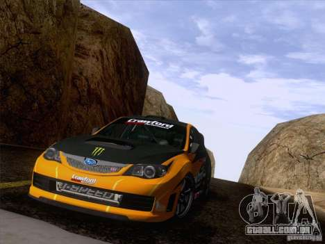 Downhill Drift para GTA San Andreas nono tela