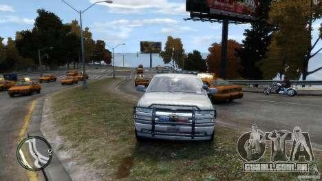 Chevrolet Suburban 2006 Police K9 UNIT para GTA 4 vista de volta