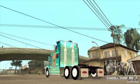 Peterbilt 387 pele 4 para GTA San Andreas vista direita