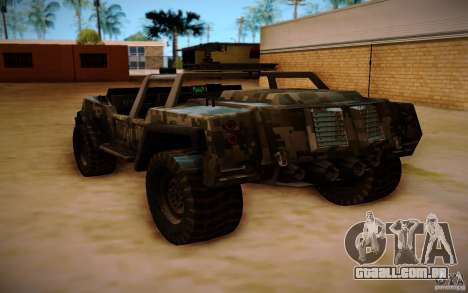 SOC-T from BO2 para GTA San Andreas esquerda vista
