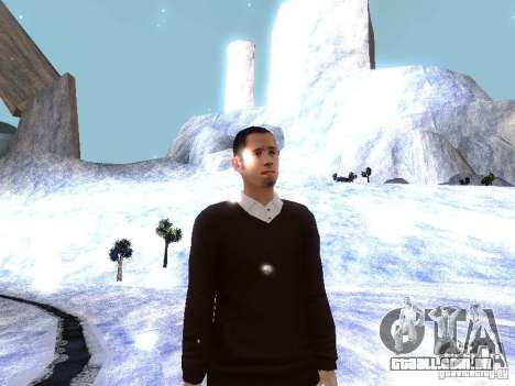 Snow MOD HQ V2.0 para GTA San Andreas décimo tela