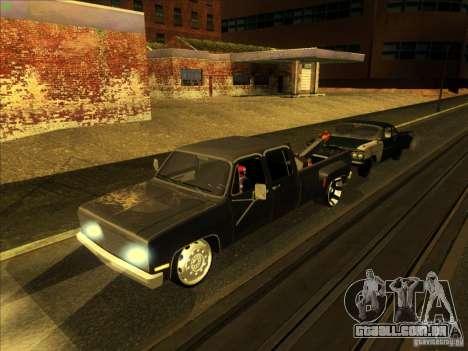 Chevrolet Silverado Towtruck para GTA San Andreas vista superior