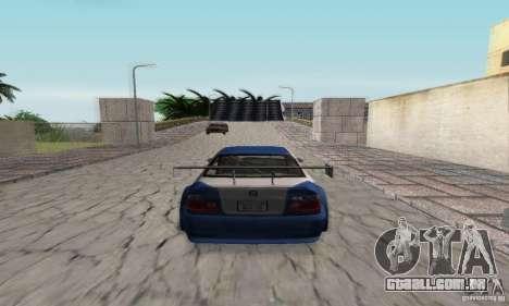 New Groove by hanan2106 para GTA San Andreas twelth tela