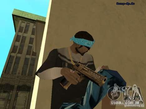 Deagle dourada para GTA San Andreas