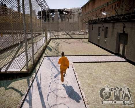 The prison Rob para GTA 4 por diante tela