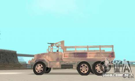 M352A 1986 para GTA San Andreas vista direita