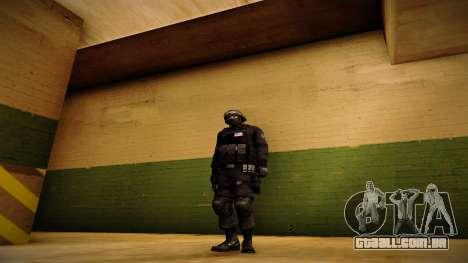 S.W.A.T. para GTA San Andreas segunda tela