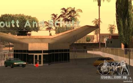 Car Buy para GTA San Andreas por diante tela