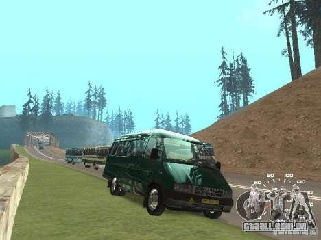 GAZ 32213 para GTA San Andreas vista direita
